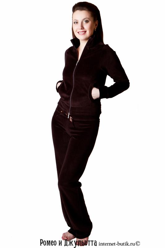 Велюровый костюм женский доставка